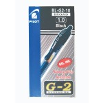 Pilot G2 Gel Pen 1.0mm Black in Dozen Pack (12 pieces)