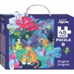 HINKLER CHILDREN JIGSAW PUZZLE Magical Dragons 45PCS