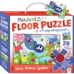 HINKLER MUSICAL FLOOR PUZZLE INCY WINCY SPIDER 28PCS