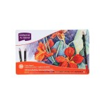 DERWENT ACADEMY COLOUR PENCILS - 36 LONG TIN BOX