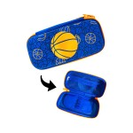 ZIPPER PENCIL CASE- BASKETBALL QN13007456