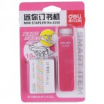 DELI STAPLER SET NO.10 PINK 0250