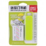 DELI STAPLER SET NO.10 GREEN 0250