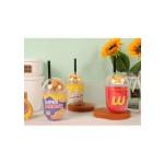DRINKING CUP W/STRAW 350ML TR-DA01713
