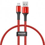 BASEUS CALGH-D09 LIGHTNING CABLE 3A 25CM RED