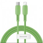 BASEUS CATLDC-06 TYPE-C TO LIGHTNING CABLE 18W 1.2METRE GREEN