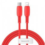 BASEUS CATLDC-09 TYPE-C TO LIGHTNING CABLE 18W 1.2METRE RED
