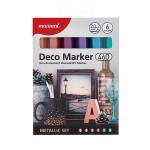 MONAMI 460 Deco Marker Set - Metallic