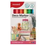MONAMI 463 Deco Marker Set - Fluorescent