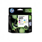 HP 685 CMYK COMBO PACK INK CART(F6V35AA)