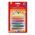 FABER-CASTELL FIRST GRIP CRAYONS - 6 COLOURS