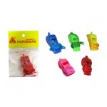 WHISTLES PLASTIC WITH STRING CY318C (RANDOM COLOR)