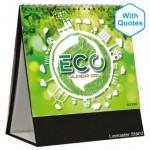 Premium Desk Top Calendar Linmaster DTCP722 - Eco