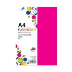 POP ARTZ SIMILI COLOUR PAPER A4 80GSM 50'S FLUORESCENT MIX COLOUR
