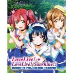 LOVE LIVE!+ LOVE LIVE! SUNSHINE!!SEASON 1+2( VOL.1-52 END) + 2 MOVIES  (6DVD)