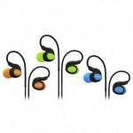 CLIPTEC BSE201 XTION-FIT SPORT EARPHONE ORANGE