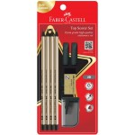 FABER-CASTELL TRI-GRIP 2B TOP SCORER SET (GOLD EDITION)