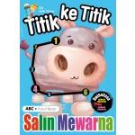 TITIK KE TITIK & SALIN MEWARNA: ABC HURUF BESAR