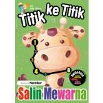 TITIK KE TITIK & SALIN MEWARNA: BELAJAR NOMBOR