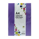 POP ARTZ EVA FOAM A4 5 COLOURS 10 PIECES