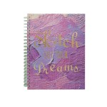 POP ARTZ HARD COVER SKETCH BOOK A4 125 GSM 60 SHEETS PA-HCS60-PURPLE