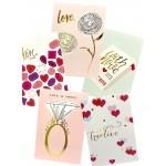 GREETING CARD- LOVE 10*15CM