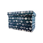 STORAGE BOX CUM CHAIR 48*31*31CM -CAT FL-1311M