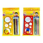 SENIOR PATTERN DESIGN / PICK UP STICK Assorted