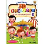 3D CHILDREN 24KIDS NUR.RHYMES 3 (DVD+CD)
