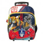 TRANSFORMER PRE SCHOOL TROLLEY BAG
