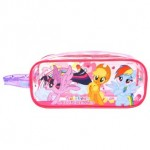 MY LITTLE PONY SQUARE PENCIL BAG SET