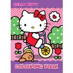 HELLO KITTY ACTIVITY & COLOURING BOOK SET (WITH STICKER & COLOUR PENCIL)
