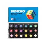 BUNCHO POSTER COLOUR 15CC - 18 COLOURS