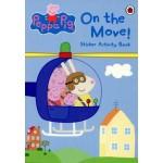 C-PEPPA PIG : ON THE MOVE STICKER ACTIVI