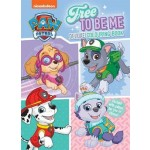 PAW PATROL PINK DELUXE COLOURING BOOK