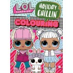 L.O.L SURPRISE HOLIDAY CHILLIN' COLOURING BOOK