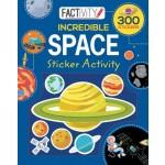 Factivity Balloon Sticker Activity Book: Space