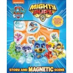 PAW PATROL MIGHTY PUPS MAGNETIC BOARD SCENE