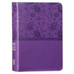 NKJV Compact Text Leathersoft [Purple]