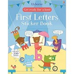 GET READY FOR SCHOOL:FIRST LETTERS STICKER BK