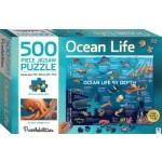 HINKLER JIGSAW PUZZLE OCEAN LIFE BY DEPTH 500PCS