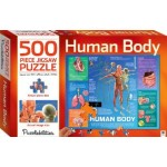 HINKLER JIGSAW PUZZLE HUMAN BODY 500PCS