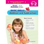 Grades 1 -2 Math Success Basic Skills: Additional And Subtraction