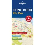 LONELY PLANET HONG KONG CITY MAP 1ST EDITION