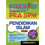 TINGKATAN 4 POWER UP KERTAS MODEL PRA SPM PENDIDIKAN ISLAM