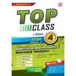 TINGKATAN 4 TOP CLASS ADDITIONAL  MATHEMATICS