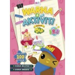 Buku Warna & Aktiviti bersama Didi & Friends : 123