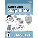Primary 1 Kertas Ujian Siap Sedia English