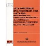AKTA KOMUNIKASI DAN MULTIMEDIA 1998 (AKTA 588)