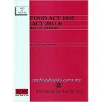 FOOD ACT 1983 (ACT 281) & REGULATIONS (A